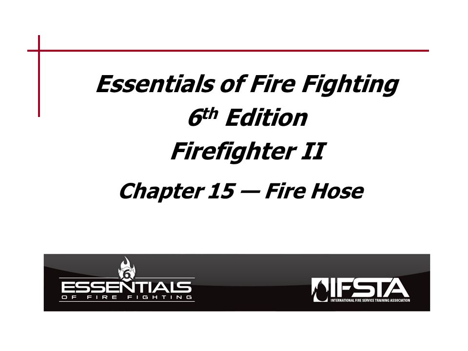 Learning Objective 1 Describe the safety considerations taken when service testing a fire hose.