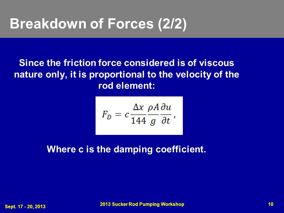 Breakdown of Forces (2/2)