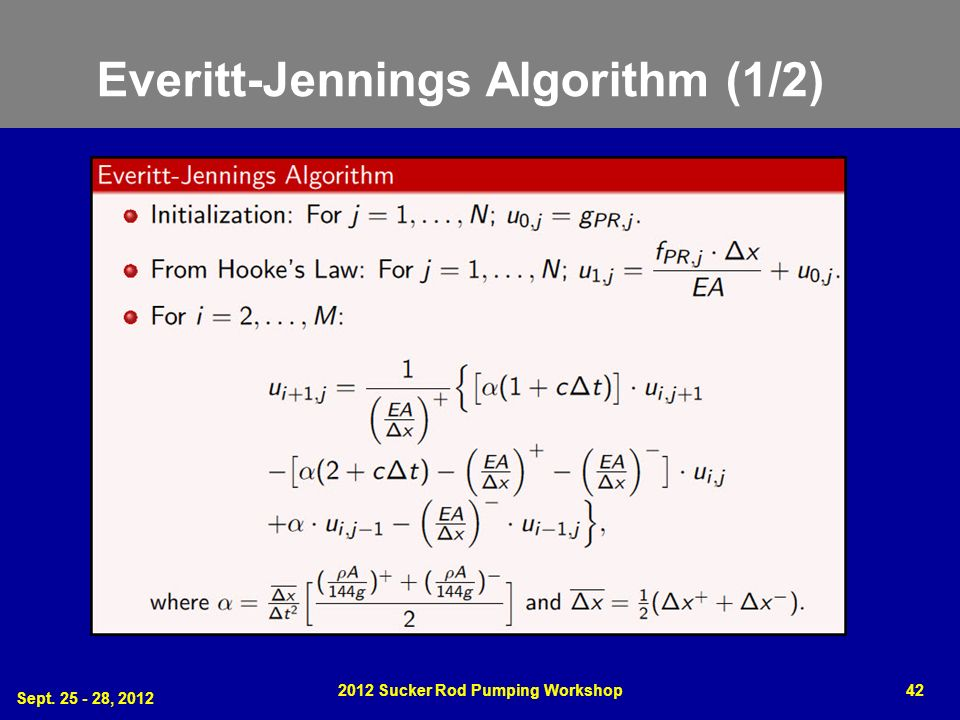 Everitt-Jennings Algorithm (1/2)