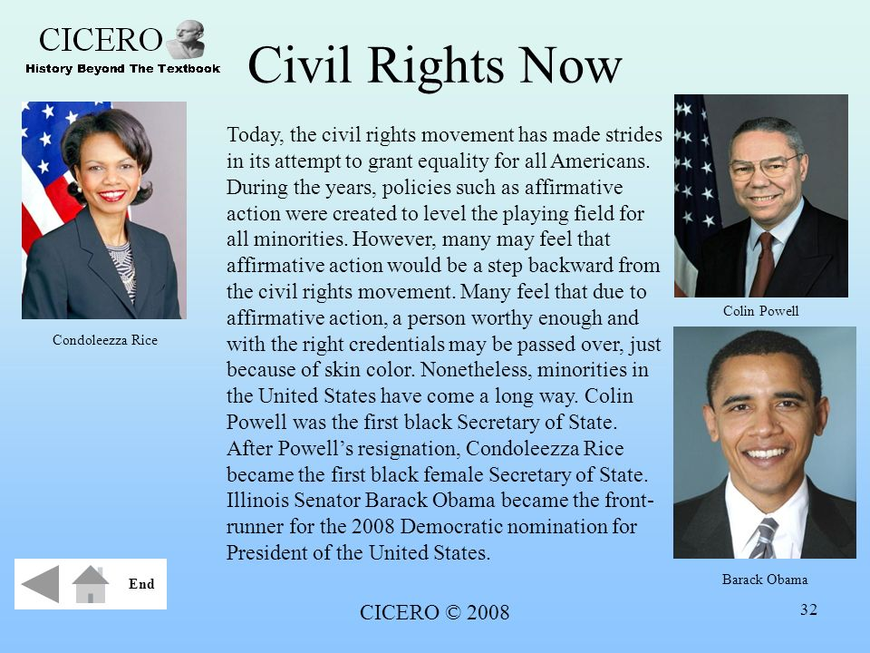 Civil Rights Now