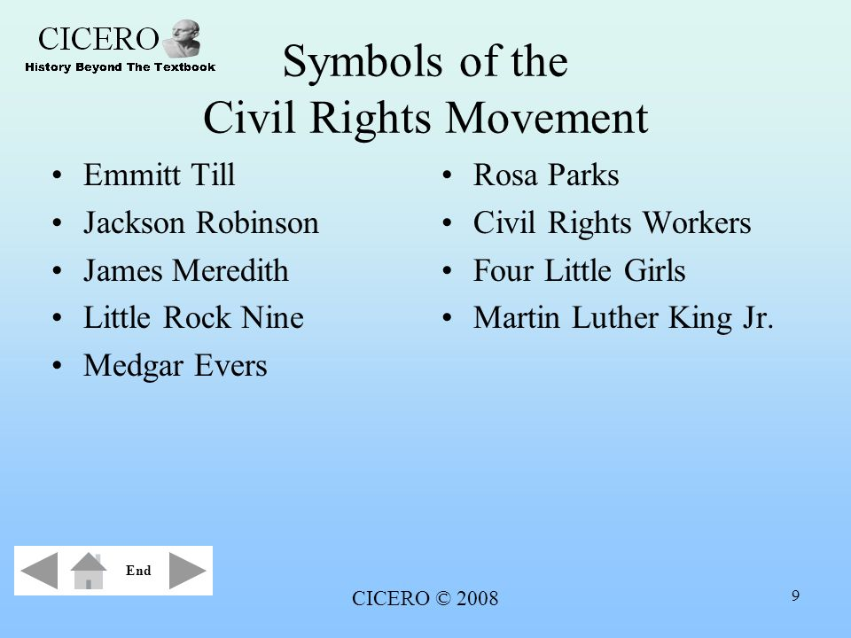 Symbols of the Civil Rights Movement