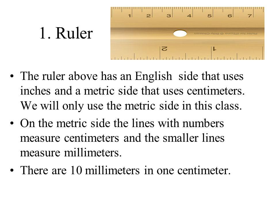 1. Ruler
