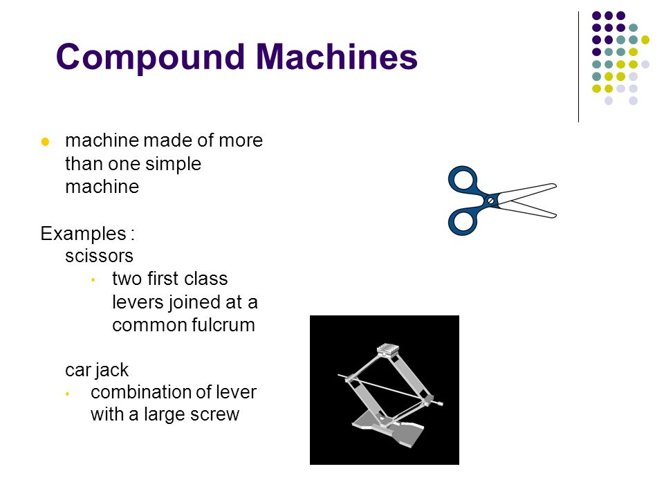 Compound Machines Chapter 12