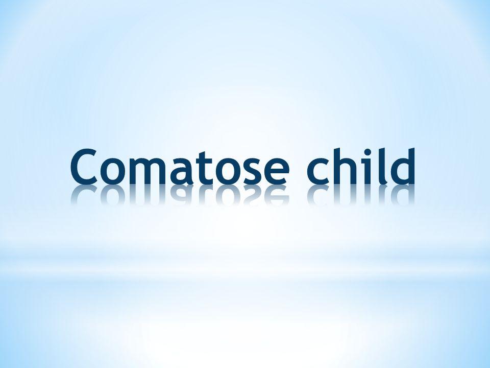 Comatose child