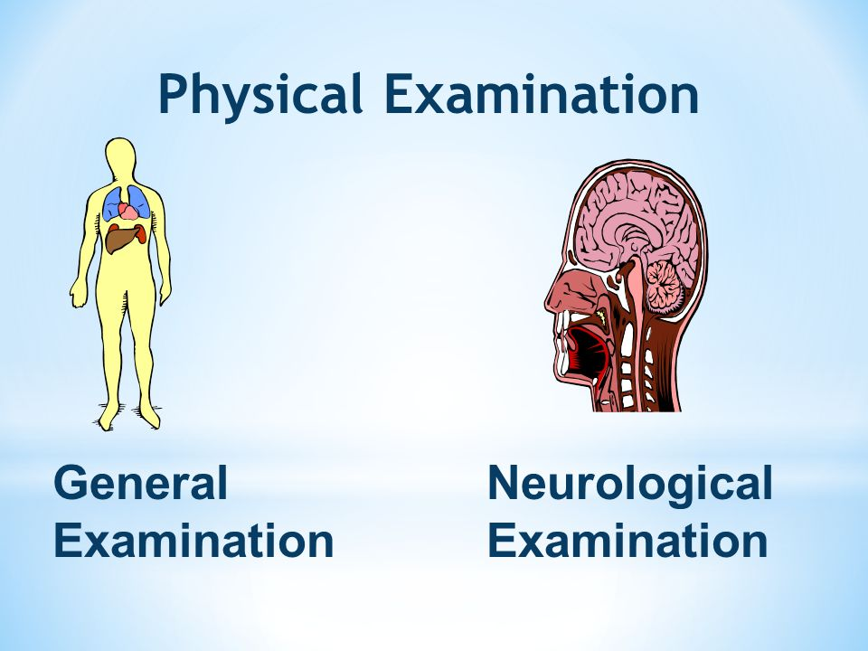 Physical Examination General Examination Neurological Examination