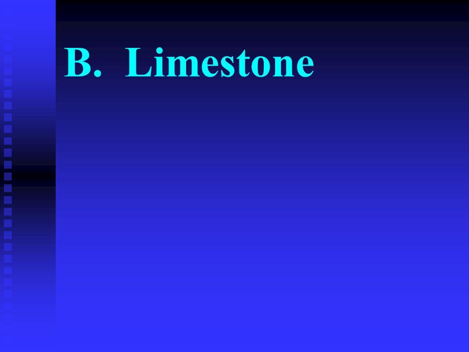 B. Limestone