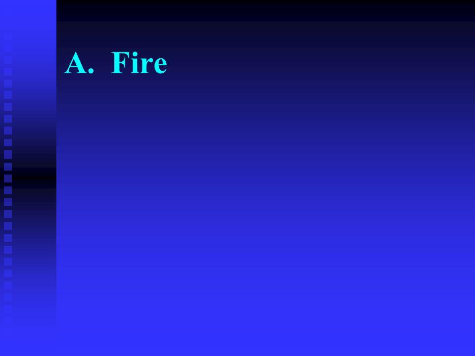 A. Fire