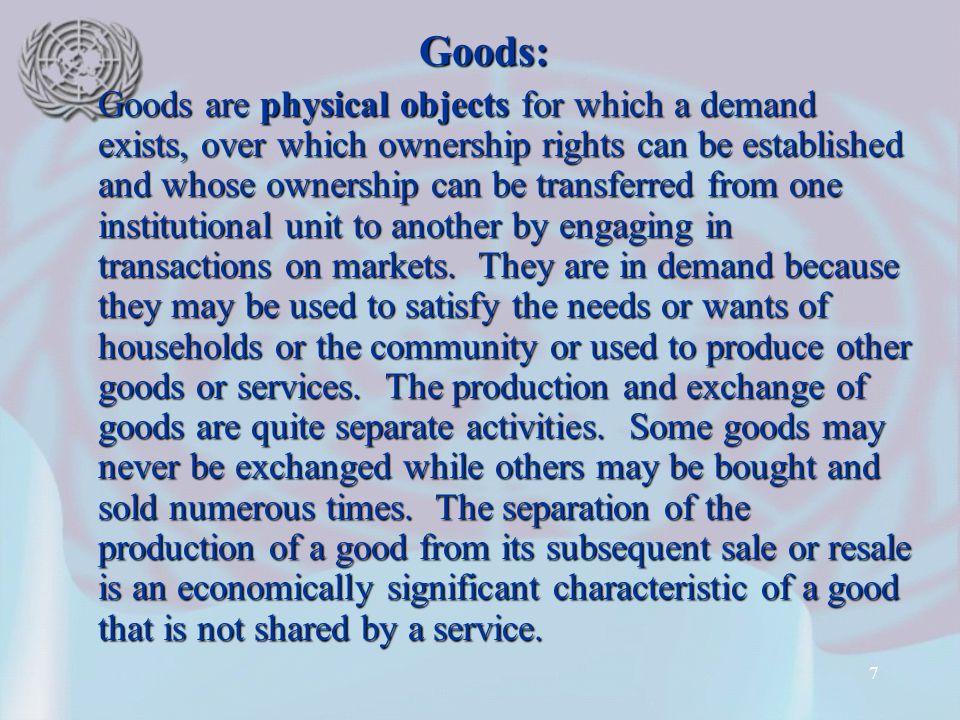 Goods: