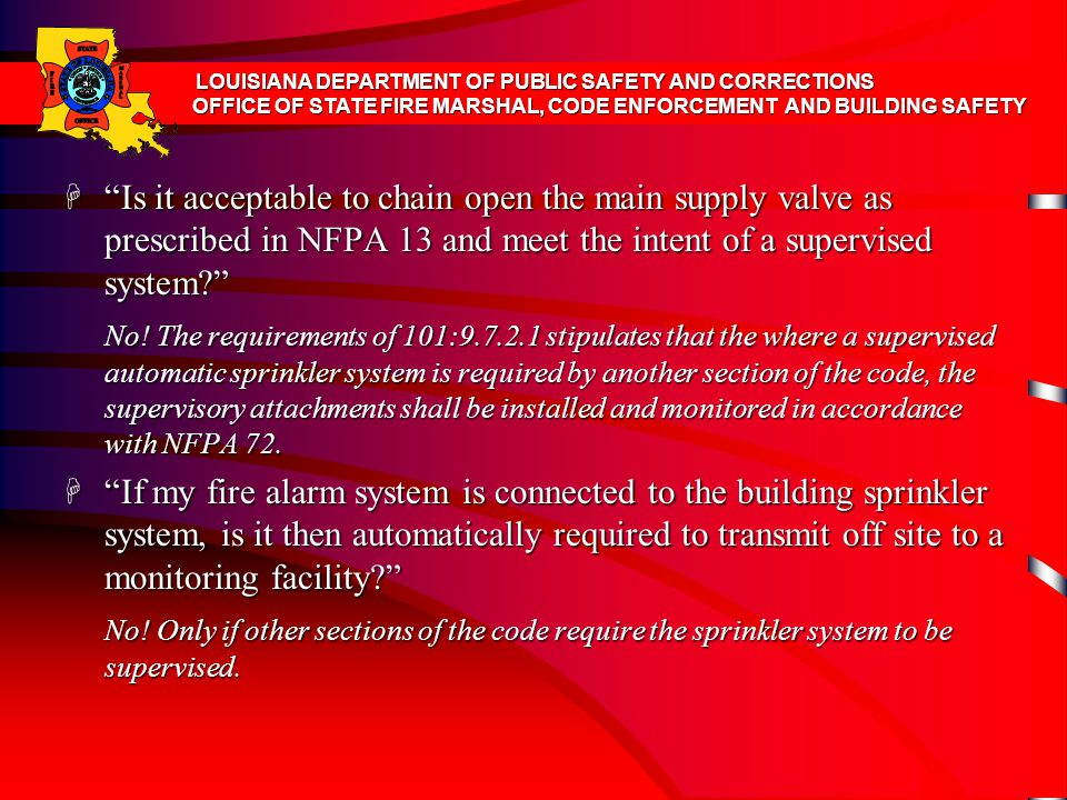 LOUISIANA DEPARTMENT OF PUBLIC SAFETY AND CORRECTIONS