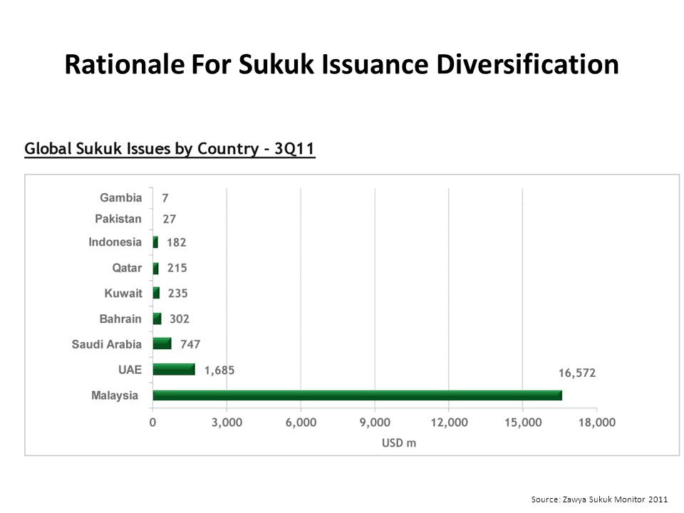 Rationale For Sukuk Issuance Diversification