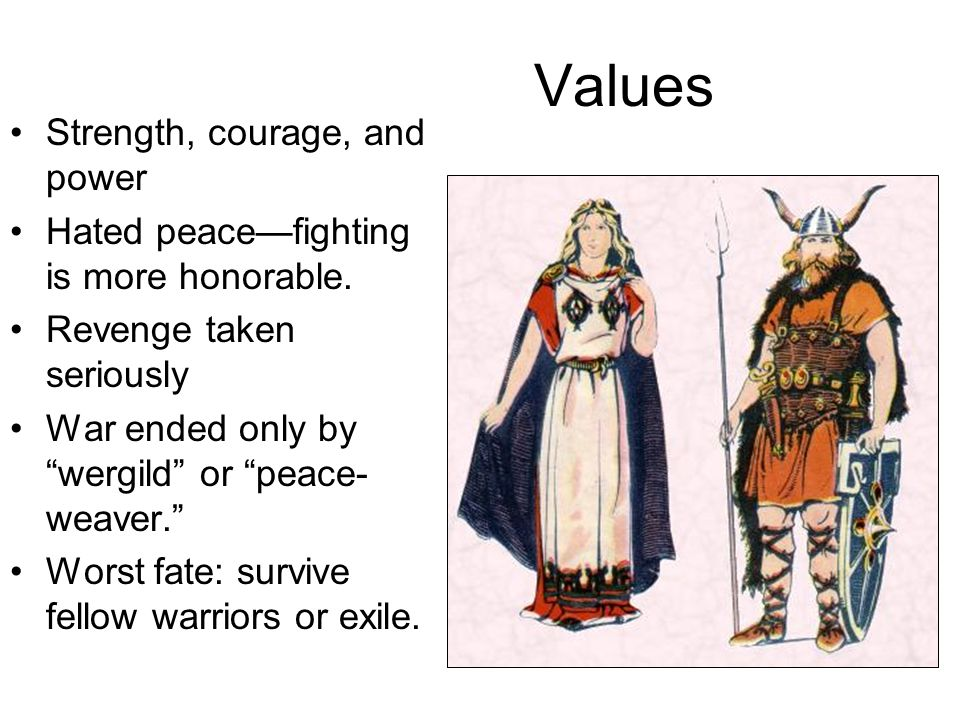 Values Strength, courage, and power