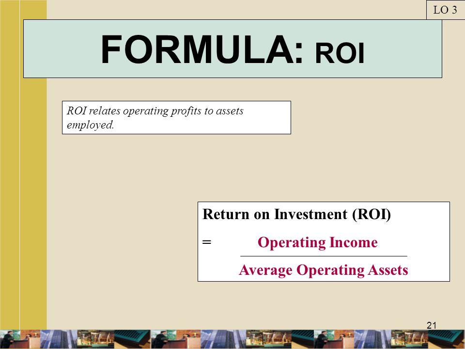Average Operating Assets