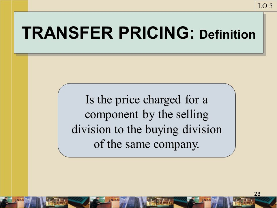 TRANSFER PRICING: Definition