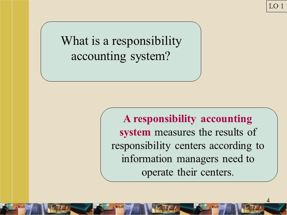 What is a responsibility accounting system