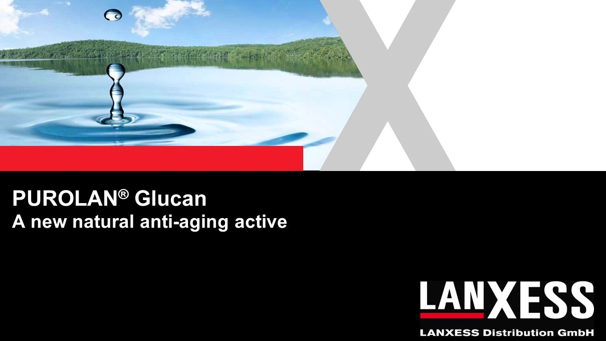 PUROLAN® Glucan A new natural anti-aging active