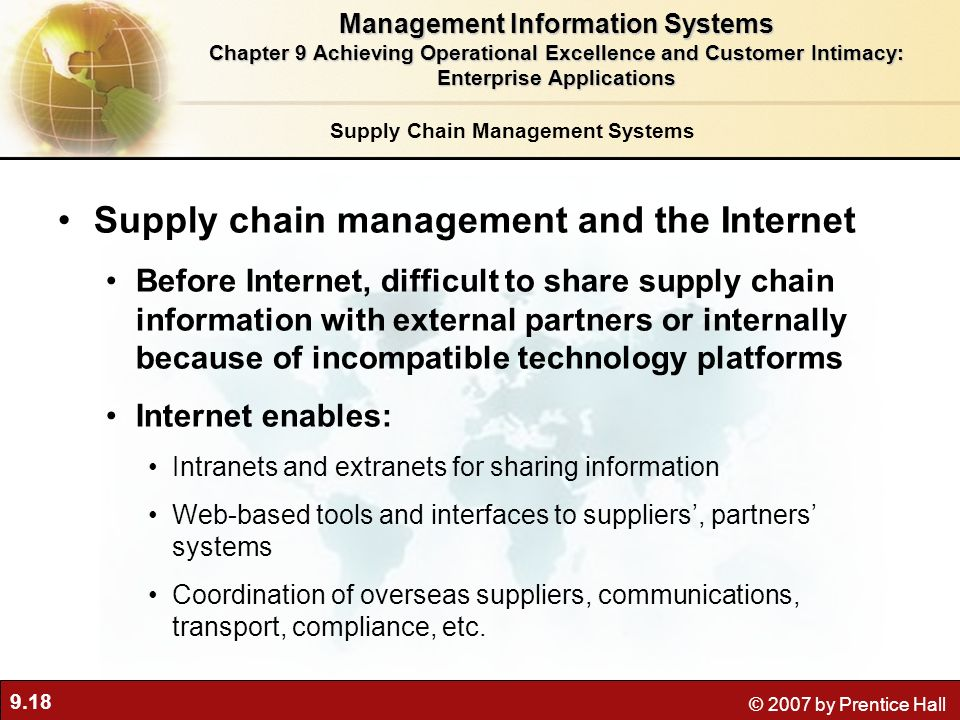 Supply Chain Technology: Integrating the Old & New