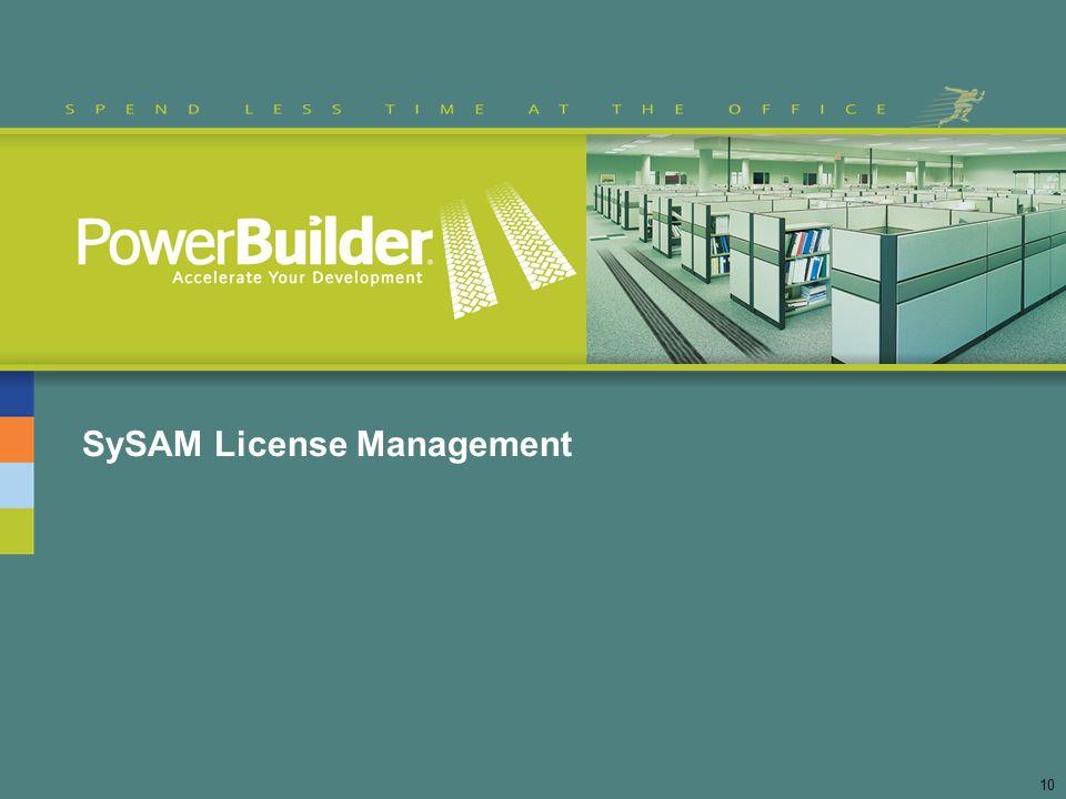 SySAM License Management