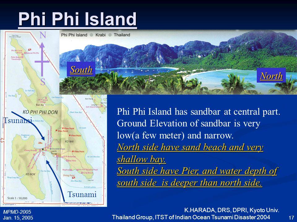 Phi Phi Island N South North S