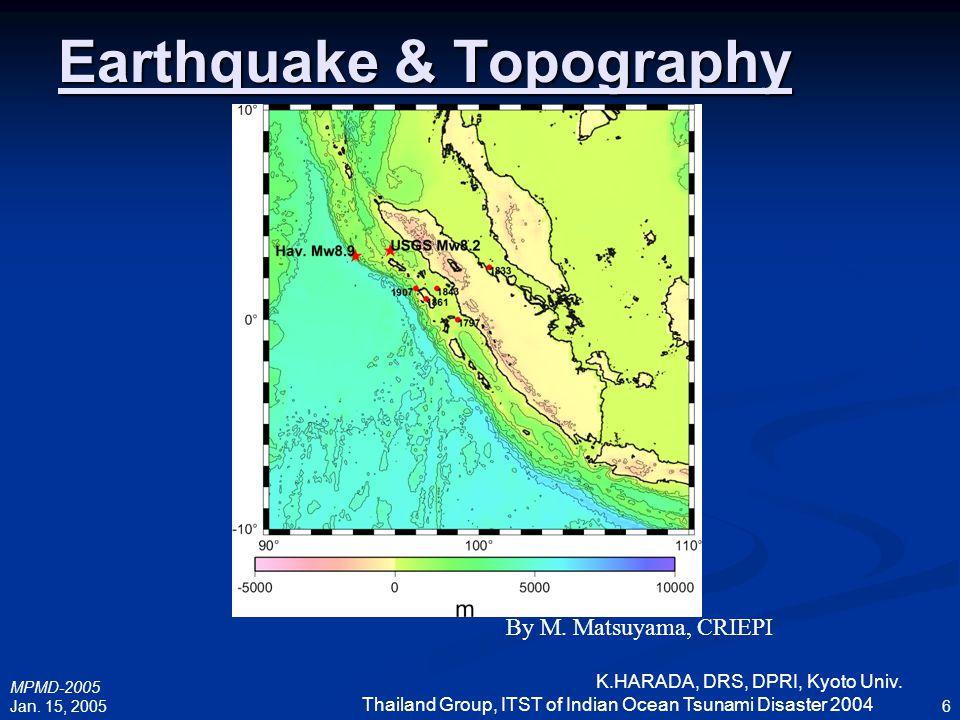 Earthquake & Topography