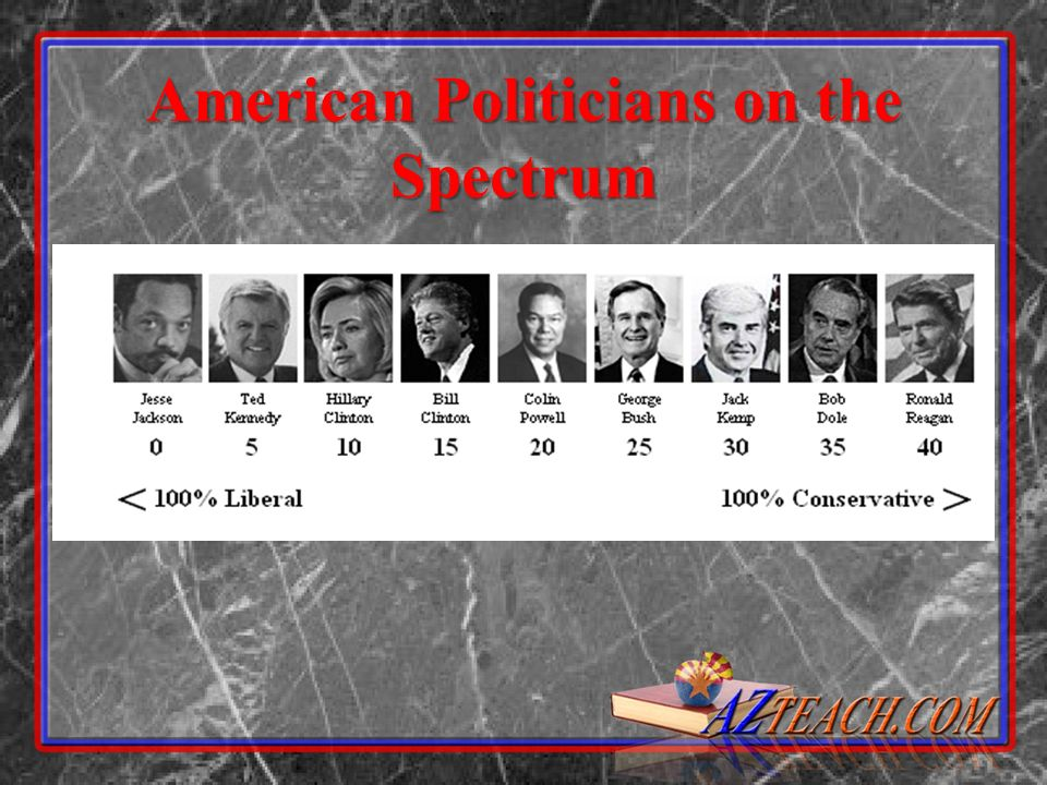 American Politicians on the Spectrum