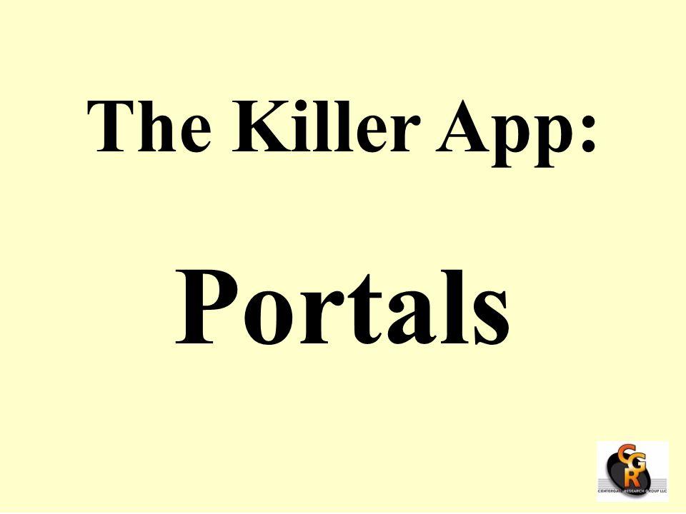 The Killer App: Portals