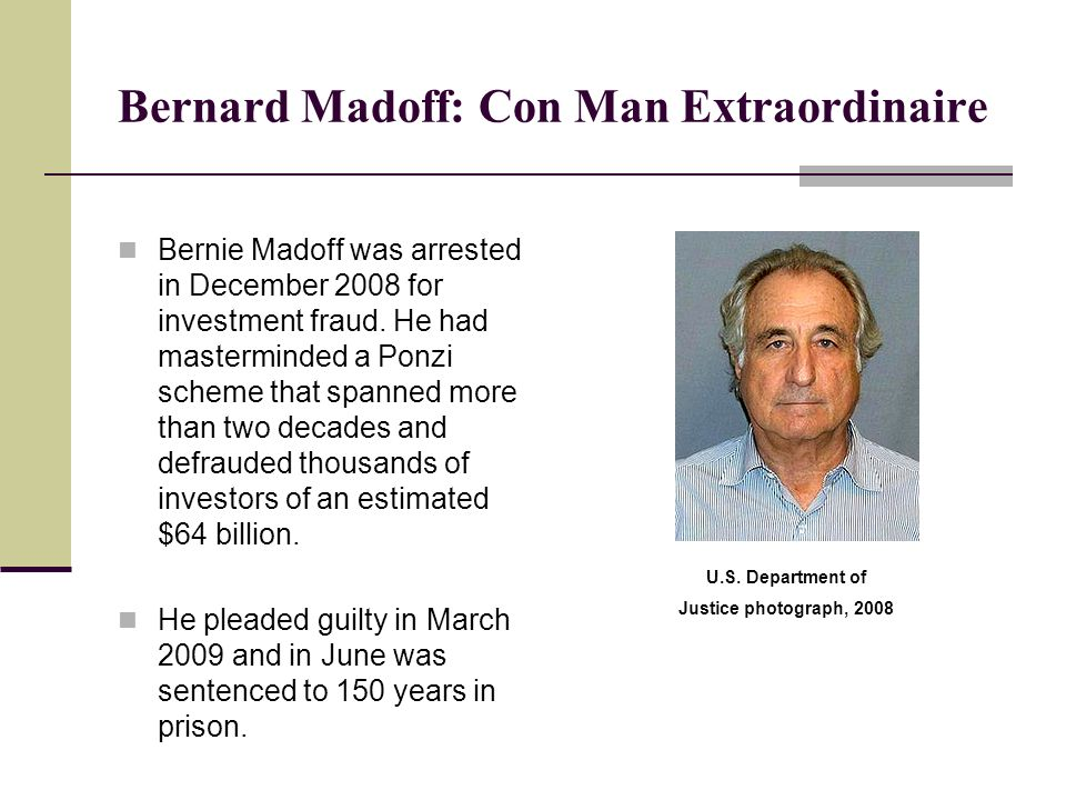 Justice dept pays $500 million to bernie madoff's ponzi scheme.