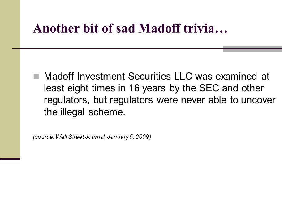 Another bit of sad Madoff trivia…