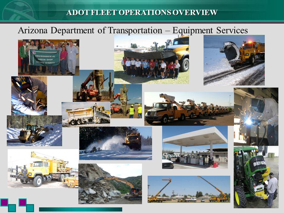 Arizona Department of Transportation – Equipment Services