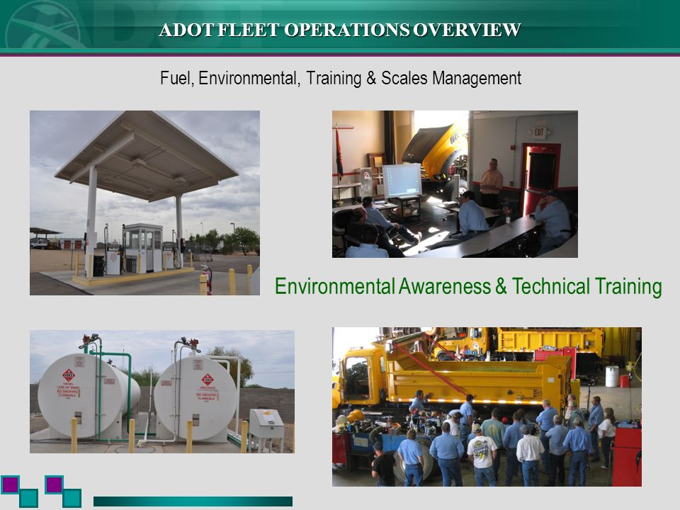 Fuel, Environmental, Training & Scales Management