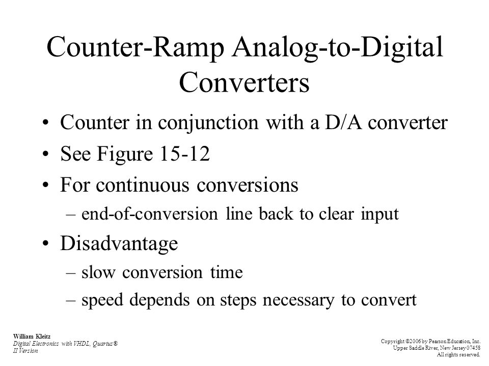 Counter-Ramp Analog-to-Digital Converters