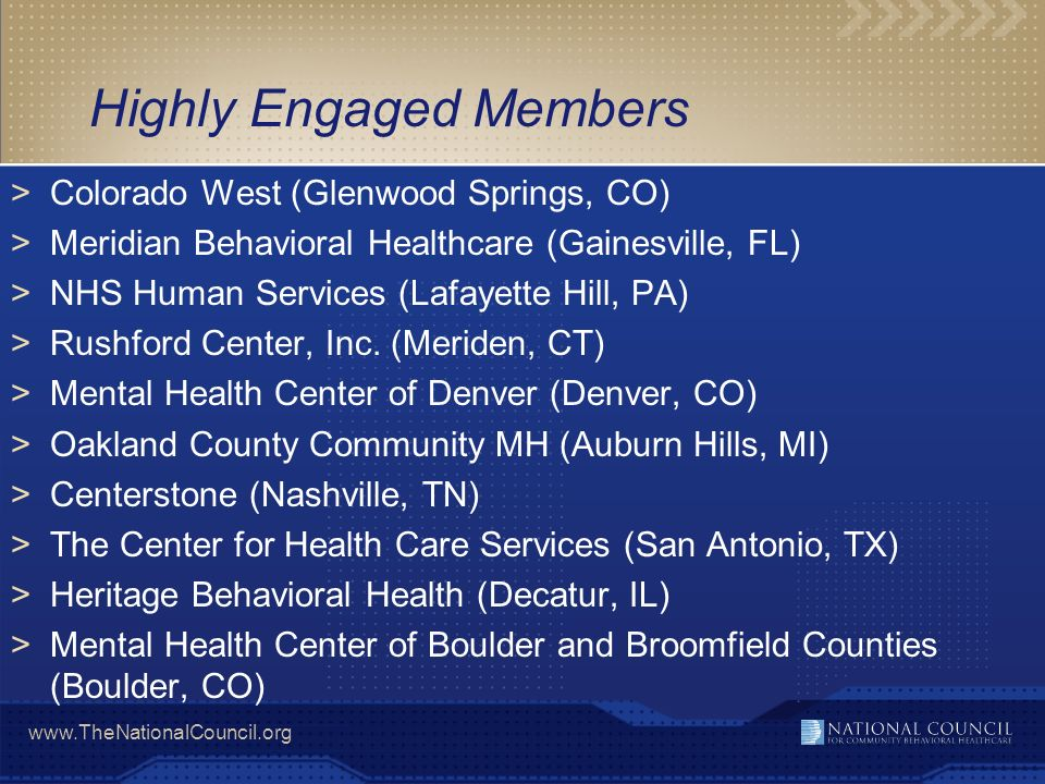Highly Engaged Members