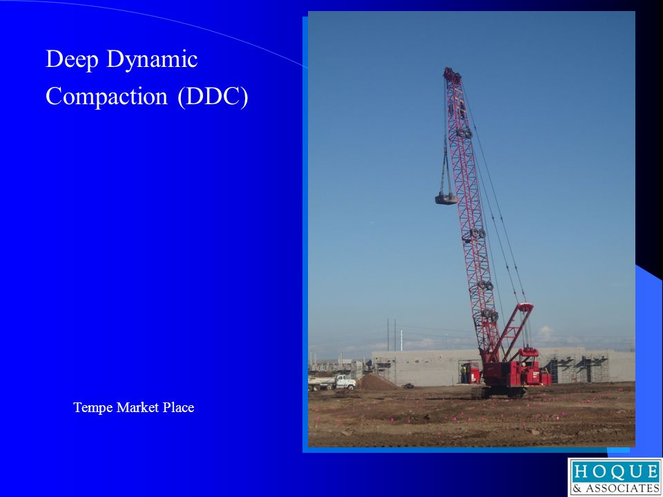 Deep Dynamic Compaction (DDC) Tempe Market Place