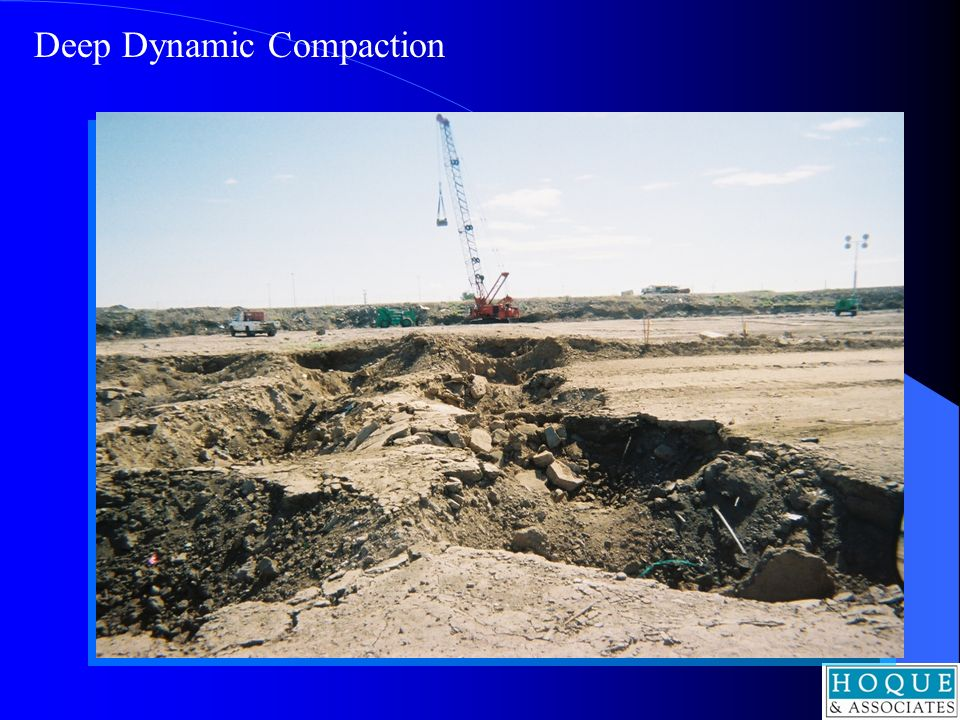 Deep Dynamic Compaction
