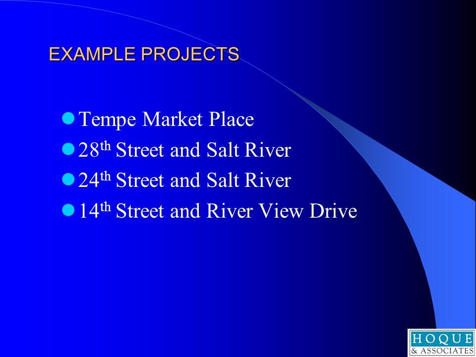 28th Street and Salt River 24th Street and Salt River