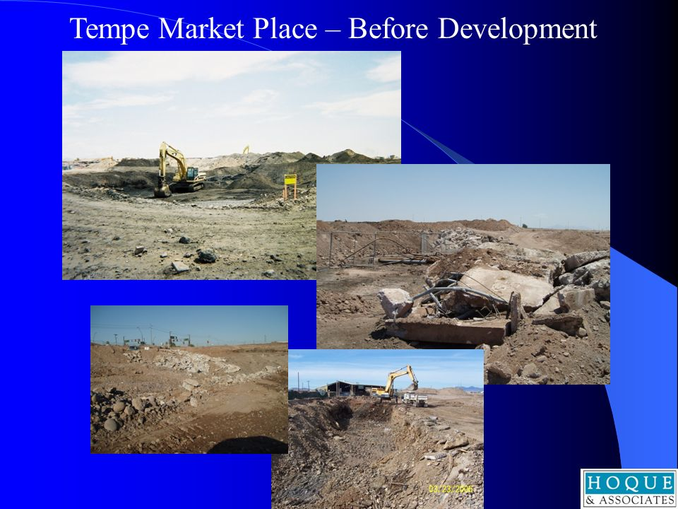 Tempe Market Place – Before Development