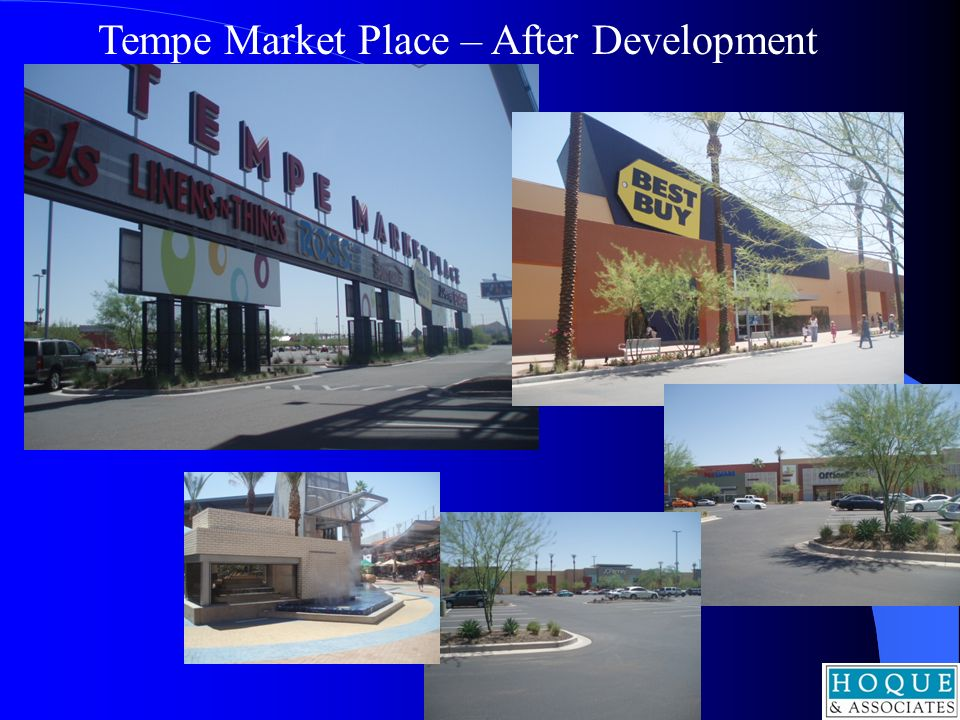 Tempe Market Place – After Development