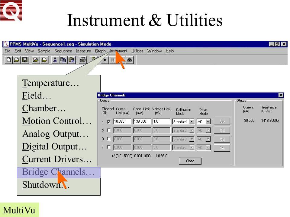 Instrument & Utilities