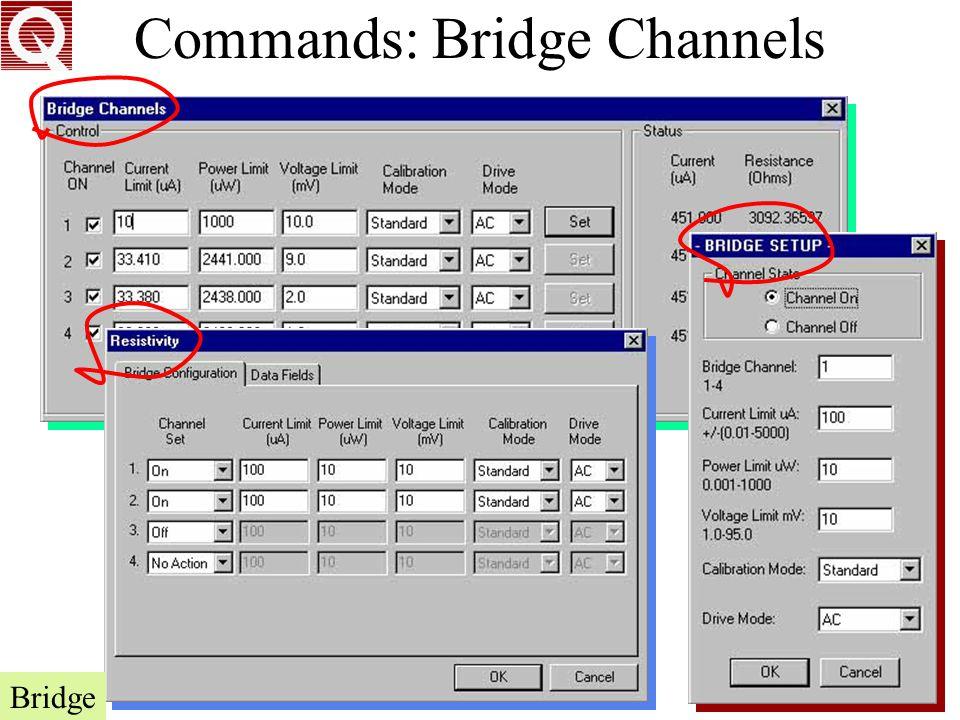 Commands: Bridge Channels