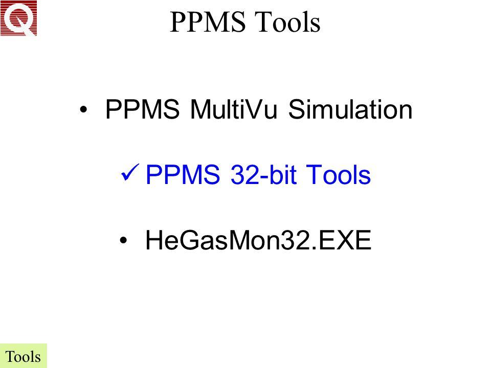 PPMS MultiVu Simulation