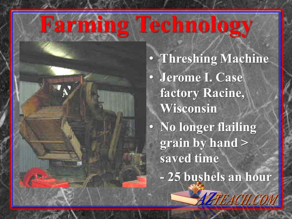 Farming Technology Threshing Machine