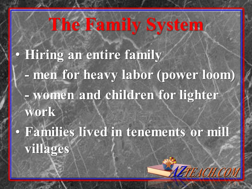 The Family System Hiring an entire family