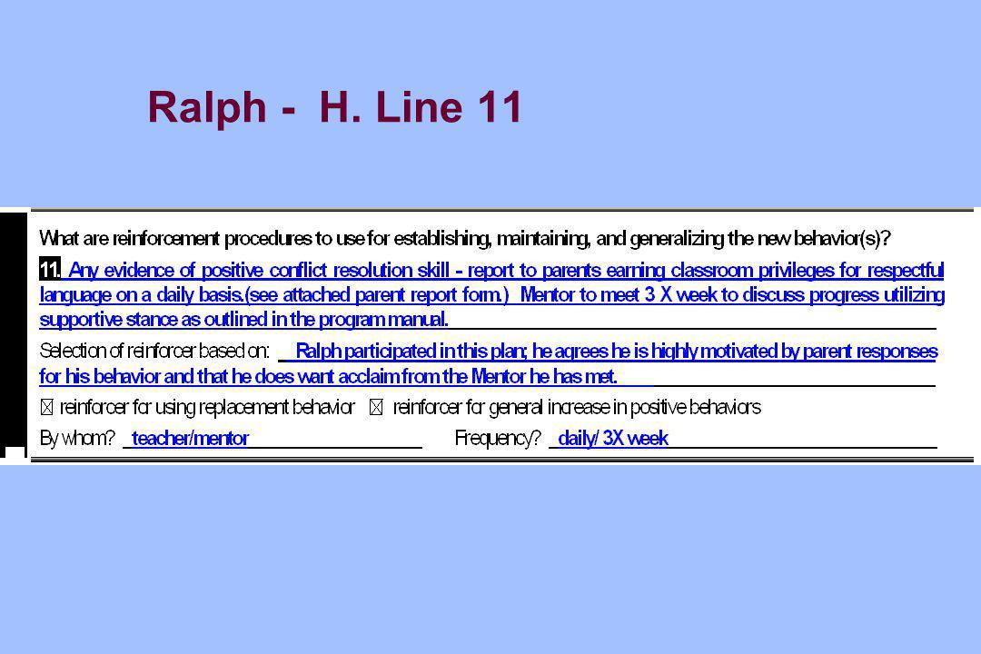Ralph - H. Line 11