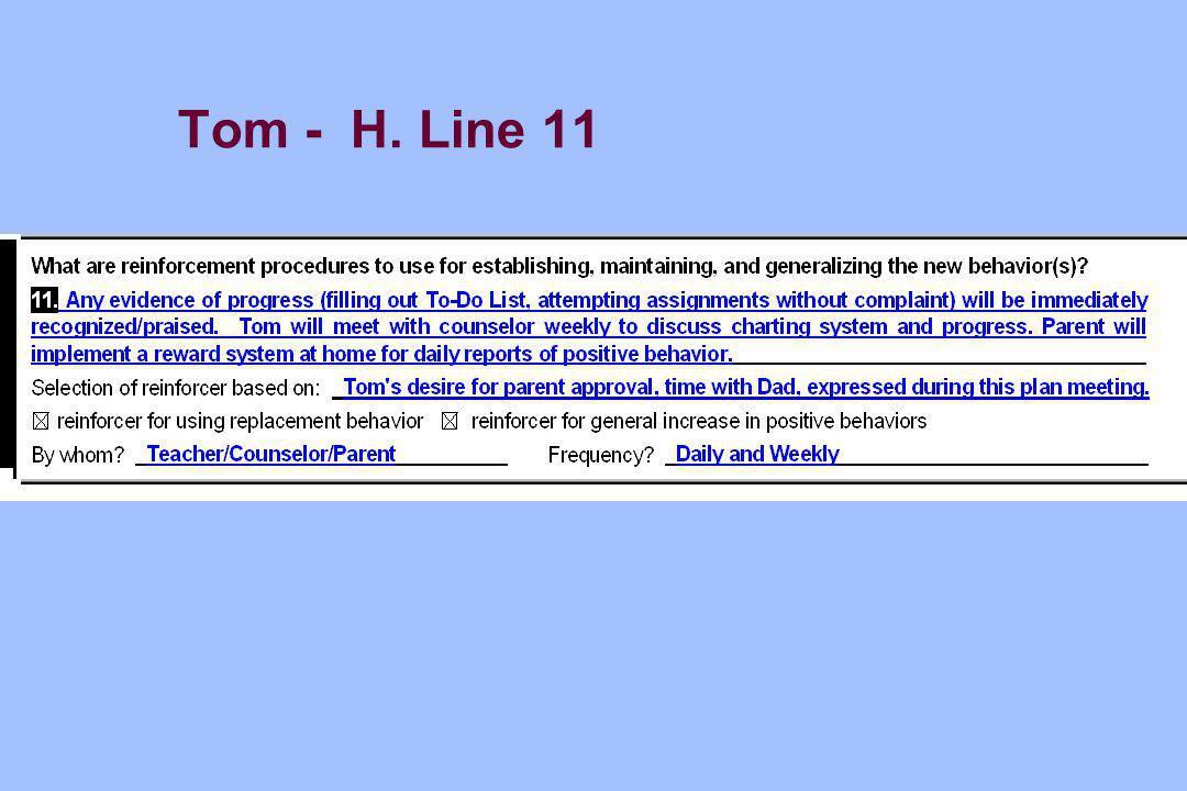 Tom - H. Line 11