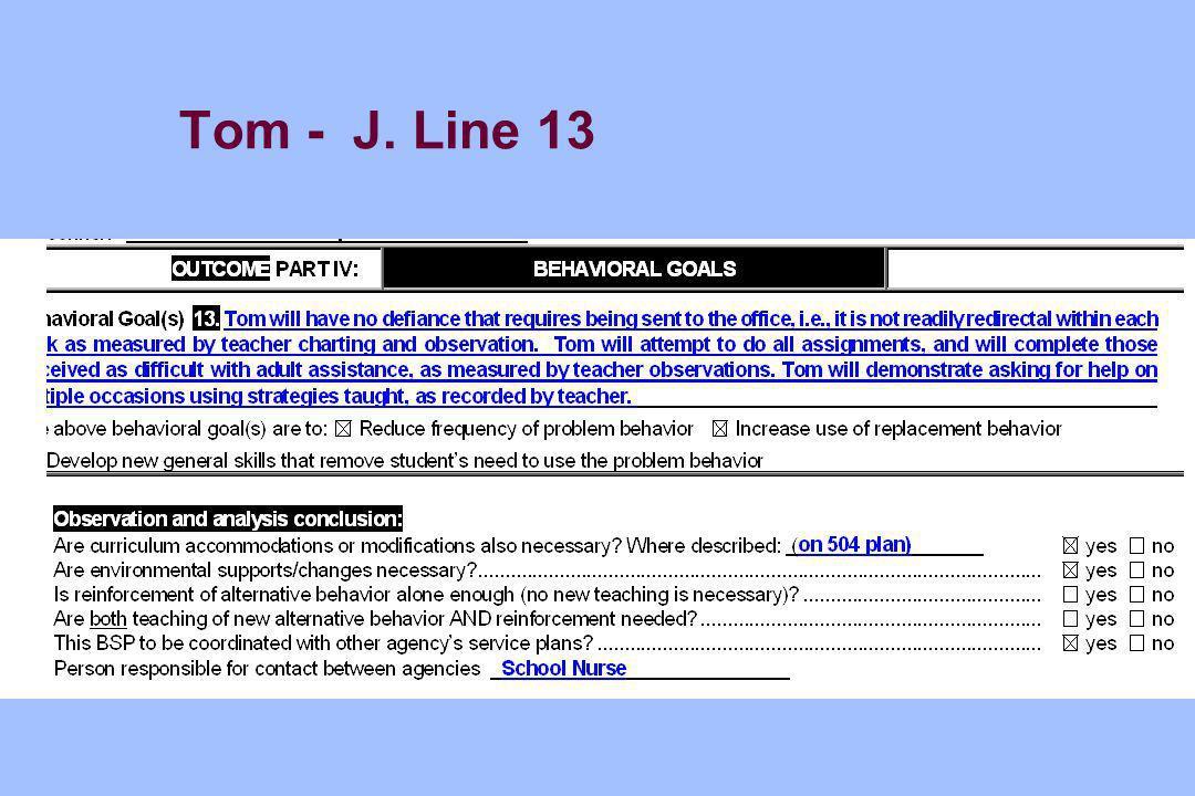 Tom - J. Line 13
