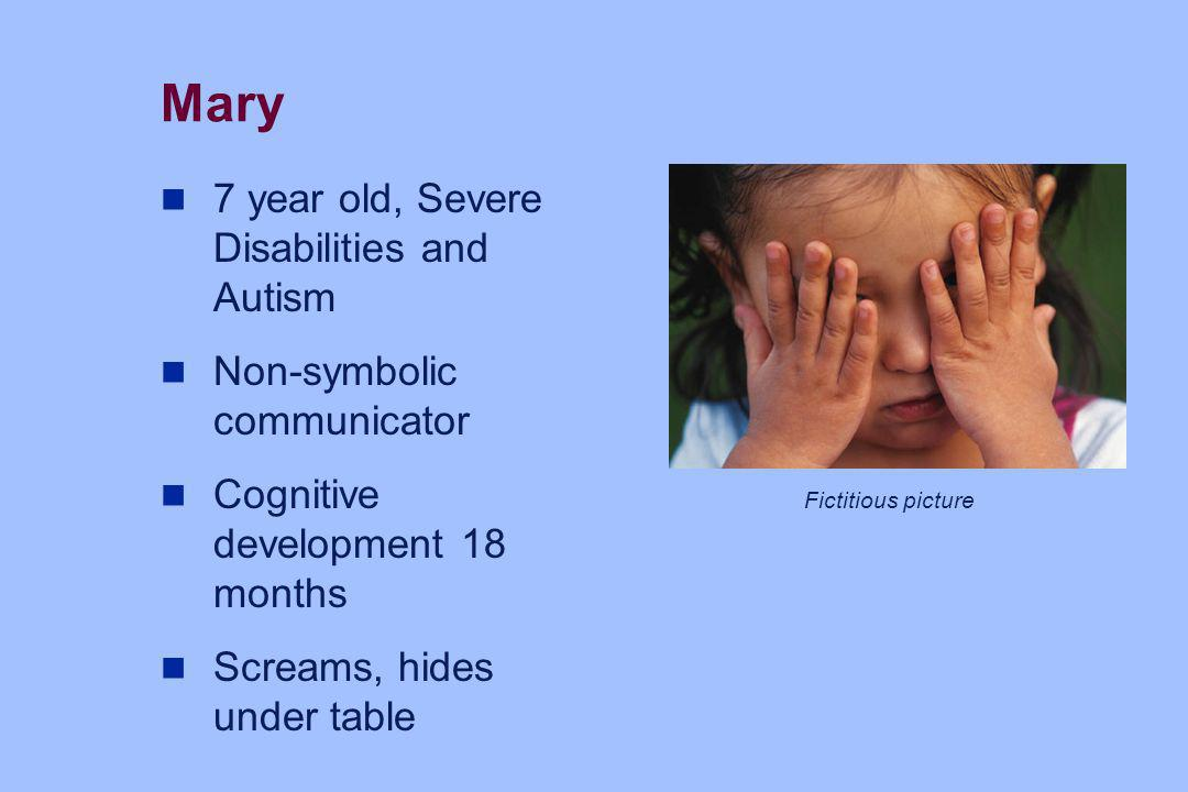 Mary 7 year old, Severe Disabilities and Autism