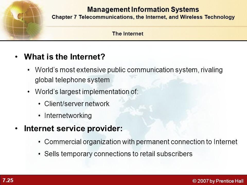 Internet service provider:
