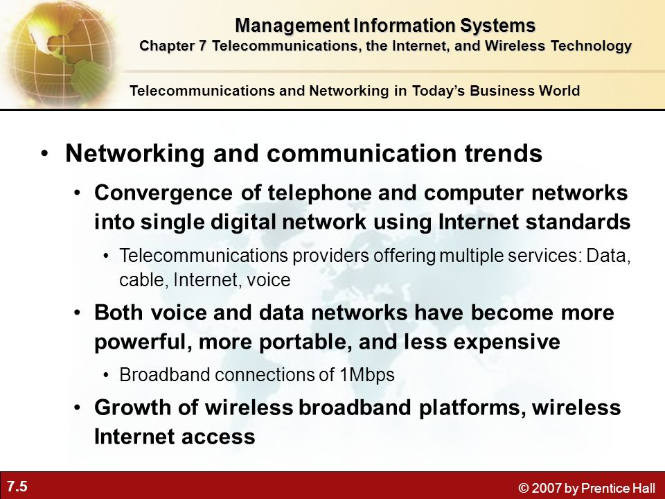 Networking and communication trends