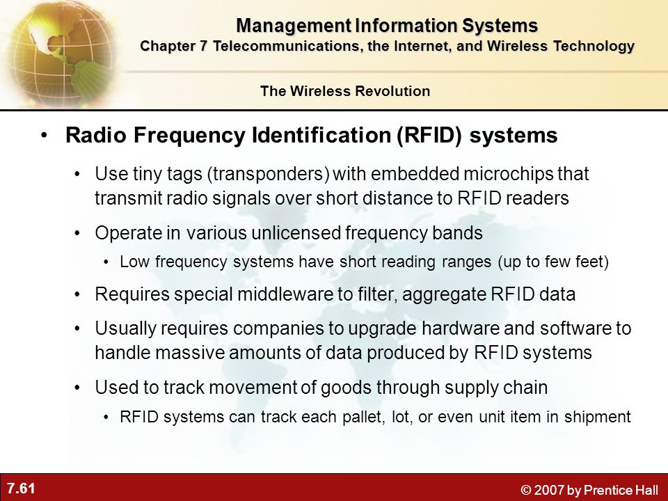 Radio Frequency Identification (RFID) systems