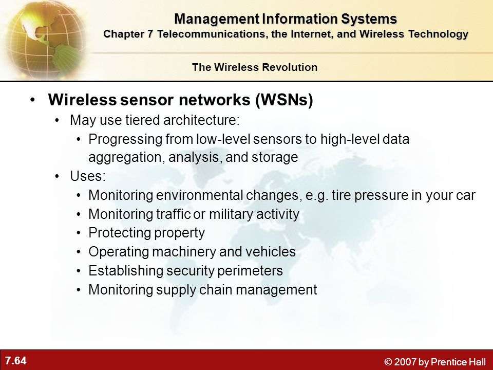 The technological revolution with wireless sensor networks or wsn
