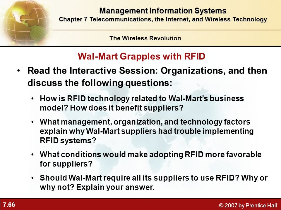 Wal-Mart Grapples with RFID